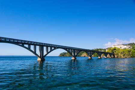 nowhere: Bridge to Nowhere, Samana Bay, Dominican Republic.