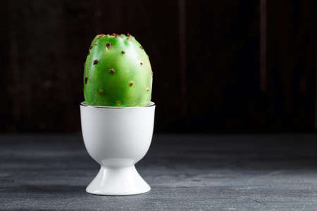 Opuntia fruit for the breakfast, place for wording