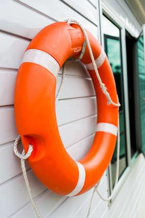 buoy: Life Buoy Stock Photo