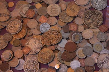 Anciennes pièces  Banque d'images - 64729821