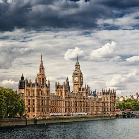 Houses of Parliament, London. photo