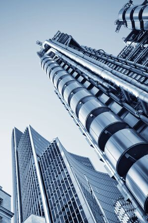 Lloyds of London and Willis Building in City of London. Stock Photo - 7948604