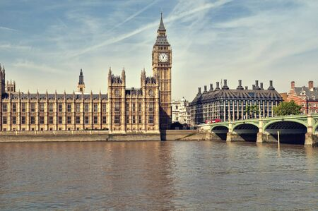 Houses of Parliament at summer time. Stock Photo - 7948581