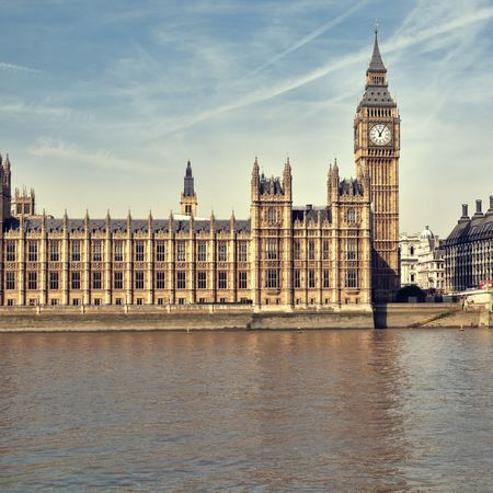 Houses of Parliament at summer time, London, UK. Stock Photo - 7948561