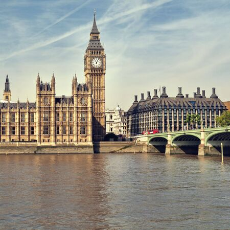 Houses of Parliament at summer time, London, UK. Stock Photo - 7948562