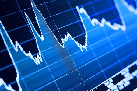 digital stock: Stock Chart