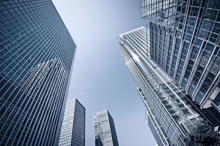 edificios: Foto tonos de Canary Wharf, Londres.  Foto de archivo