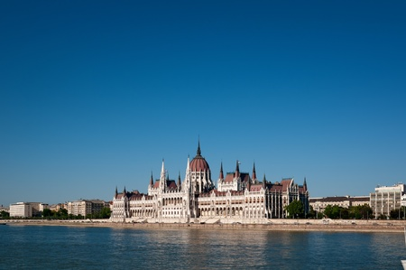 Hungarian Parliament and River Danube