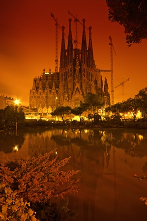 barcelona cathedral: Sagrada Familia, Barcelona - Spain Editorial