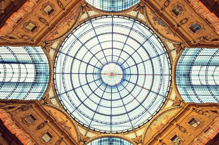 The Galleria Vittorio Emanuele II in Milan. photo