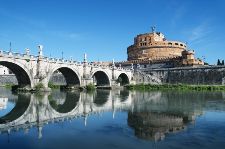 sant: Castel Sant Angelo, ROME - ITALY Stock Photo