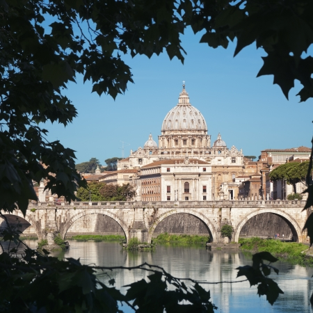 st peter s basilica: St  Peter s Basilica, Rome - Italy  Editorial