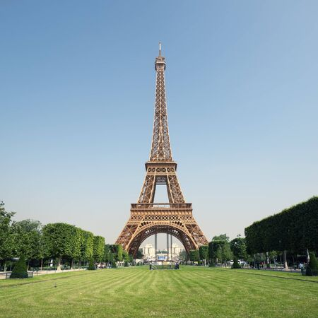 The Eiffel Tower in Paris, France. Stock Photo - 15293931
