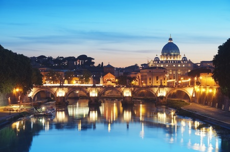 peters: River Tiber in Rome - Italy