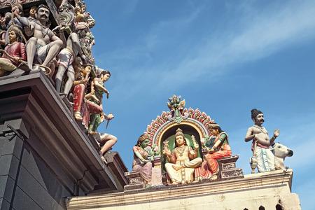 mariamman: Details of Sri Mariamman Hindu Temple in Singapore