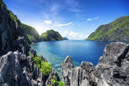 palawan: El Nido , Palawan - Philippines Stock Photo
