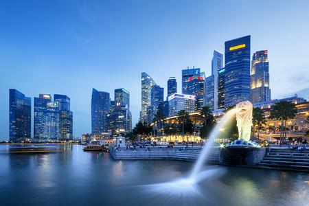 マーライオン - シンガポールのマーライオン、シンガポールの観光