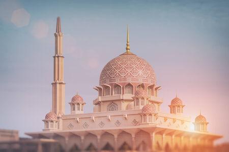 Putra Mosque in Putrajaya - Kuala Lumpur, Malaysia  photo