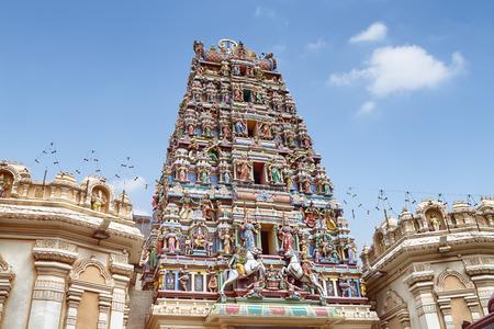 malaysia culture: Detail of Sri Mahamariamman Temple, The oldest Hindu temple in Kuala Lumpur