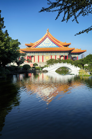 chiang kai shek memorial hall: National Concert Hall at Chiang Kai - shek Memorial Hall Square in Taiwan