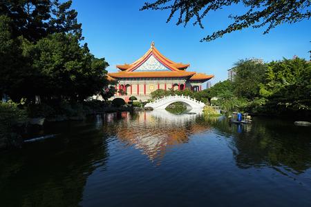 chiang kai shek memorial hall: National Concert Hall at Chiang Kai ? shek Memorial Hall Square in Taipei - Taiwan.