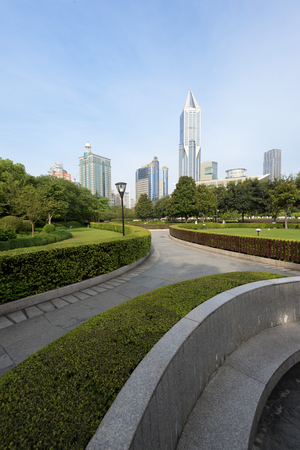 peoples: Shanghai People`s Square