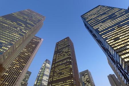 tokyo prefecture: Skyscrapers in Shinjuku, Tokyo - Japan