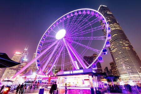 observation wheel: The Hong Kong Observation Wheel