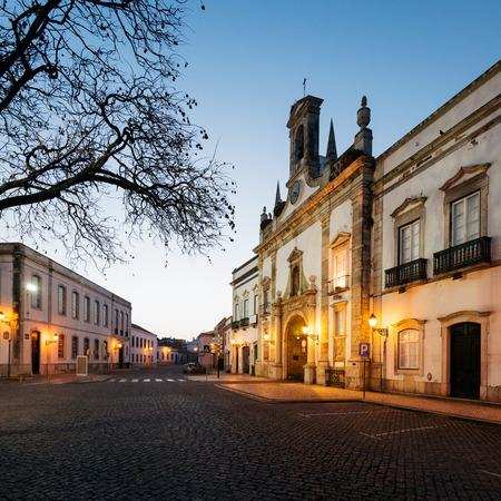 Arco Da Vila in the Old Town of  Faro Cityin Algarve- Portugal. 写真素材