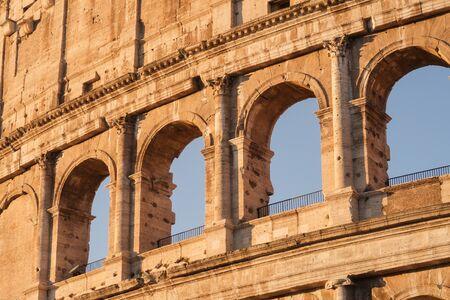 Colosseum, Rome, Italy Archivio Fotografico