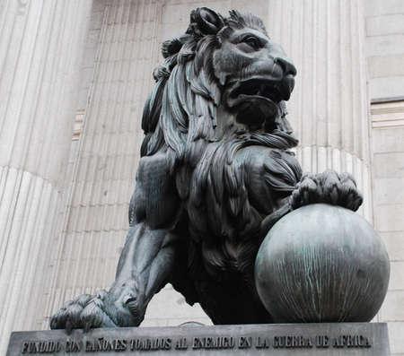 stone lion: Lion King