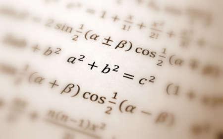 Pythagoras equation photo