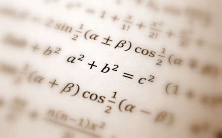 Pythagoras equation photo