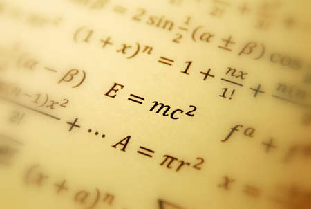 Einstein formula of relativity  photo