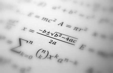 simbolos matematicos: Fondo de geometr�a de matem�ticas con f�rmulas, matem�ticas, n�mero de la ecuaci�n