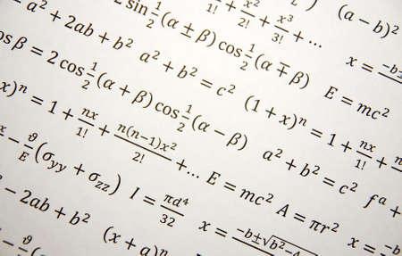 数式、数学、数値式の数学幾何学背景
