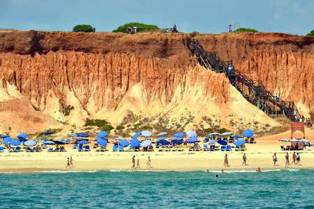 vilamoura: Beach Rocha Baixinha Leste, Vilamoura, Algarve, Portugal