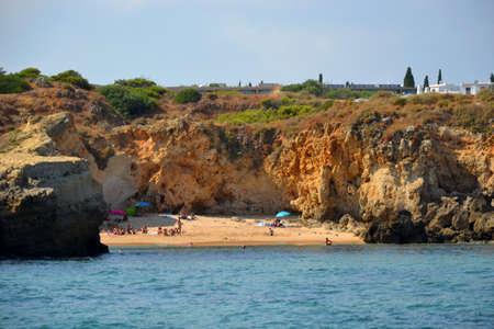 Beach So Rafael, Albufeira, Algarve, Portugal, summer