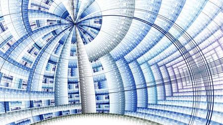 julian: Colorful fractal clockwork, abstract gears digital artwork