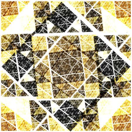 symmetrical: Abstract Symmetrical fractal Geometry Art colorful Pattern
