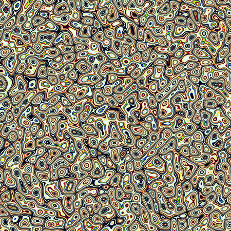 raytrace: Abstract fractal marbleized psychedelic plasma