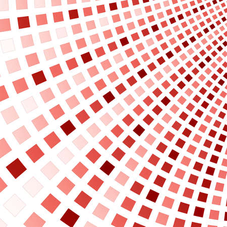 Abstract fractal square pixel mosaic illustration Stock Photo