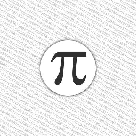 The Pi symbol mathematical constant irrational number, greek letter, background
