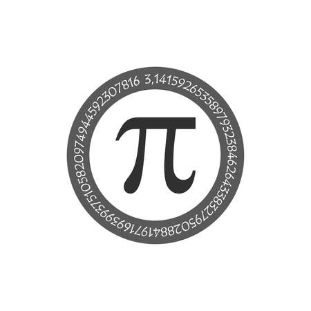 The Pi Symbol Mathematical Constant Irrational Number On Circle