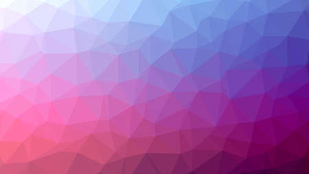 Pink lilac blue Polygonal Mosaic Background, Vector illustration, Creative Business, Origami style with gradient Çizim