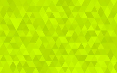 Light Green triangular low poly, Mosaic pattern Background, Vector illustration graphic, Creative Origami style with gradient Illustration