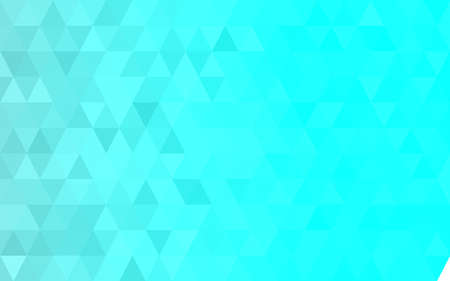 Light blue triangular low poly, Mosaic pattern Background, Vector illustration graphic, Creative Origami style with gradient
