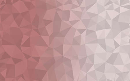 Pink Red triangular low poly, Mosaic pattern Background, Vector illustration graphic, Creative Origami style with gradient Illustration