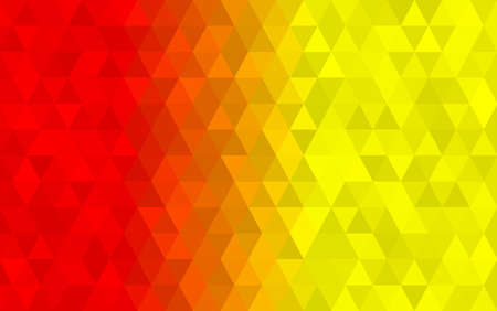 Dark Yellow, Red, Green triangular low poly, Mosaic pattern Background, Vector illustration graphic, Creative Origami style with gradient