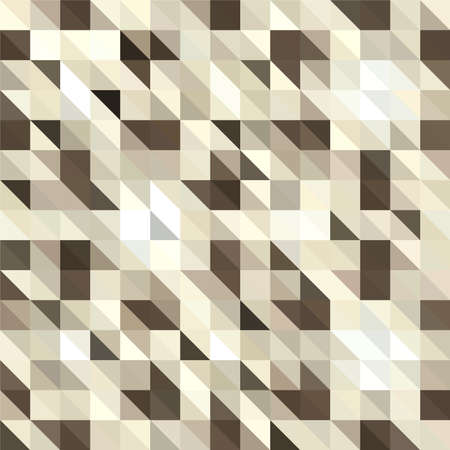 Gold, Triangular  low poly, mosaic pattern background, Vector polygonal illustration graphic, Creative, Origami style with gradient Banque d'images